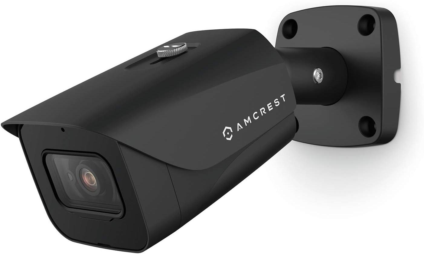 Amcrest ProHD 4K Bullet Outdoor Security Camera, 4K (8-Megapixel), Analog Camera, 130ft Night Vision, IP67 Weatherproof Housing, 2.8mm Lens 110° Wide Angle, Built-in Microphone, Black (AMC4KBC28-B)
