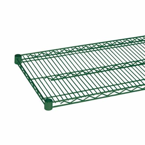 48 Green Epoxy Wire Shelf (Thunder Group CMEP2448, 24x48-Inch Epoxy Wire Shelving, Green Coated Wire Shelves)