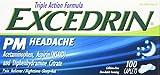 Excedrin PM Headache Pain Reliever Caplets, 100