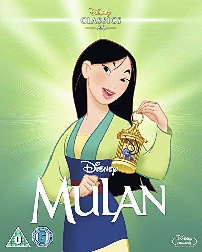 Mulan (Limited Edition Artwork Slipcover) [Blu-ray] [Region Free]