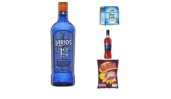 Larios 12 + Blue Tonic + Brugal + Ruffles: Amazon.es ...
