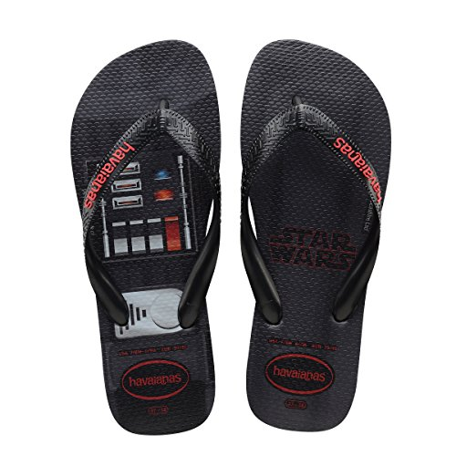 Havaianas Men's Star Wars Sandals Black 43/44