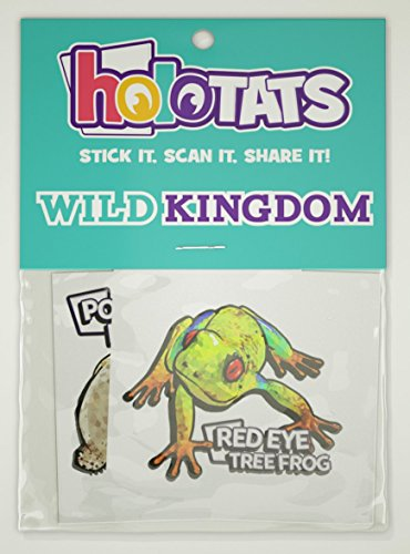 50% OFF HoloTats Wild Kingdom - Holographic Augmented Reality Temporary Tattoos For Kids Parties, Goodie Bags and Fun Games (Set of 6)