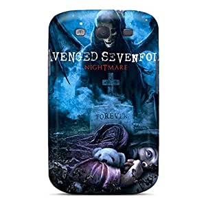 Samsung Galaxy S3 WvB525tuwQ Unique Design High Resolution Avenged Sevenfold Series Protective Hard Cell-phone Cases -CristinaKlengenberg