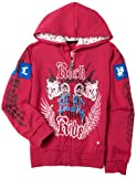 Pink Label Little Girls' Rockin N Ride Hoody