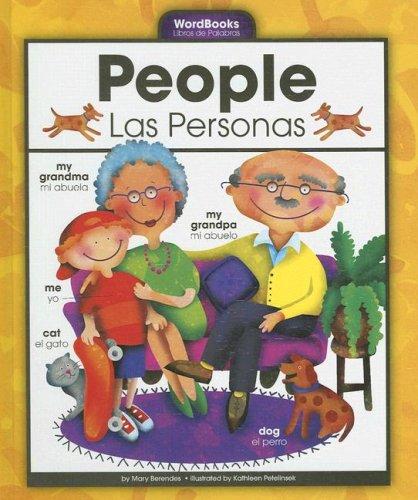 People/Las Personas (Wordbooks/Libros de Palabras) por Mary Berendes