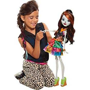 Monster High Doll Gore-geous Ghoul Skelita Calaveras Beast Freaky Friend 28 0