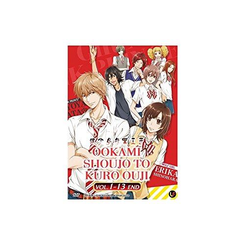 Ookami Shoujo to Kuro Ouji Vol. 1 - 13 End (DVD, Region All) English Subtitles