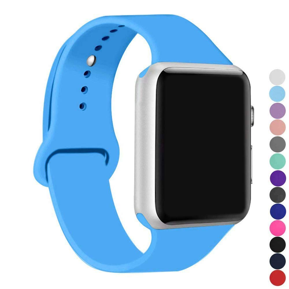 Malla Silicona Para Apple Watch (38/40mm) Ic6space [h1sn862]