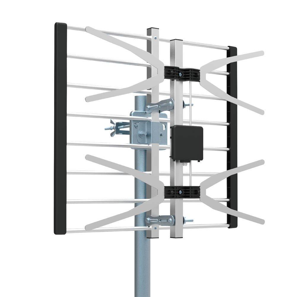 TV Antenna, Getlink Digital Outdoor High VHF, UHF and HDTV Antenna -70 Miles Range