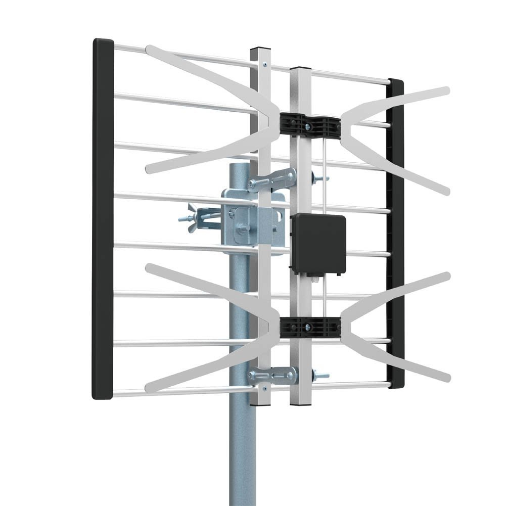 TV Antenna, Getlink Digital Outdoor High VHF, UHF and HDTV Antenna -70 Miles Range