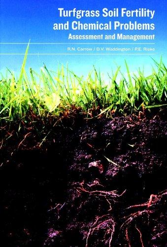 Turfgrass Soil Fertility & Chemical Problems: Assessment and - Soil Fertility