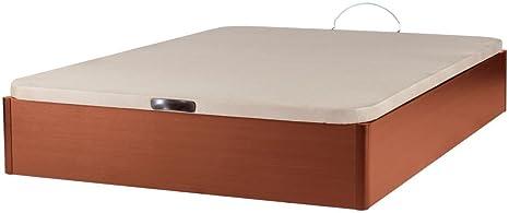 MUEBLES MATO - Canape Cerezo 135x190 con Tapa tapizada en 3D Transpirable