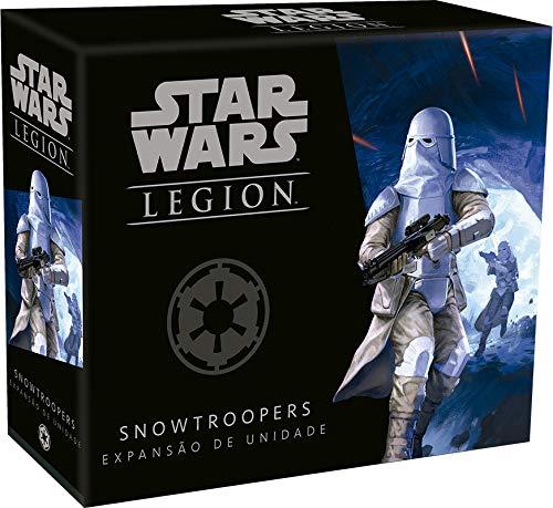 Wave 1 - Snowtroopers - Expansão De Unidade, Star Wars Legion Galápagos Jogos Multicor