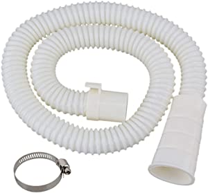 3.2 ft Washing Machine Drain Hose Extension Kit,Universal Fit All Drain Hose