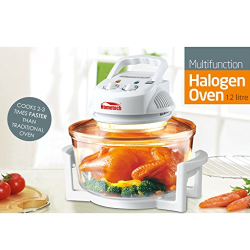 1200W Halogen Rack Tabletop Convection Countertop Cooking Toaster Oven ...