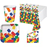 Building Blocks Deluxe Party Pack Kit for 16