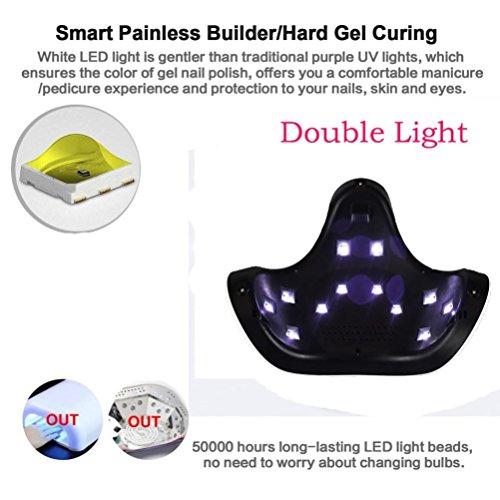 Dreamyth 24W USB LED UV Nail Gel curing Lamp Light Nail Gel Polish Dryer Nail Art Machine by Dreamyth (Image #7)