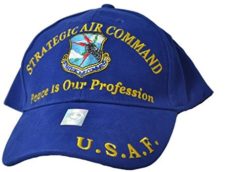 (Eagle Emblems Mens Strategic Air Command Embroidered Ball Cap Adjustable)