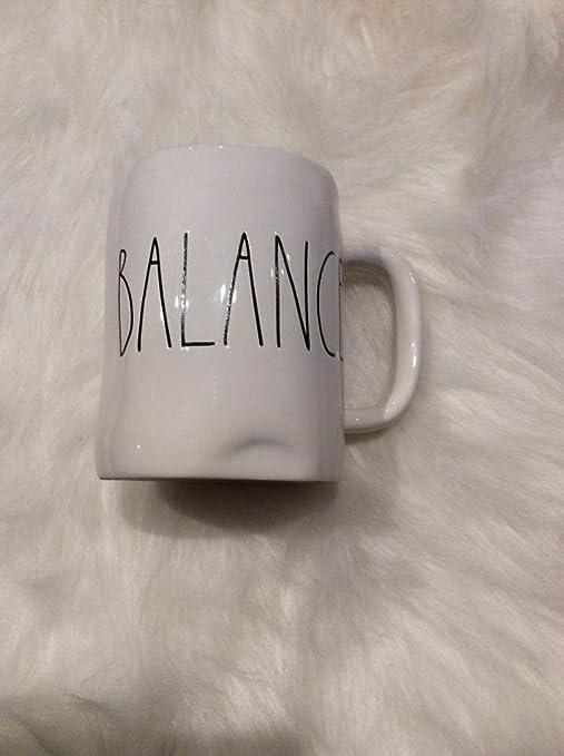 Rae Dunn Artisan Collection White Ceramic Large Letter Squad Mug 16oz Coffee Cups Mugs