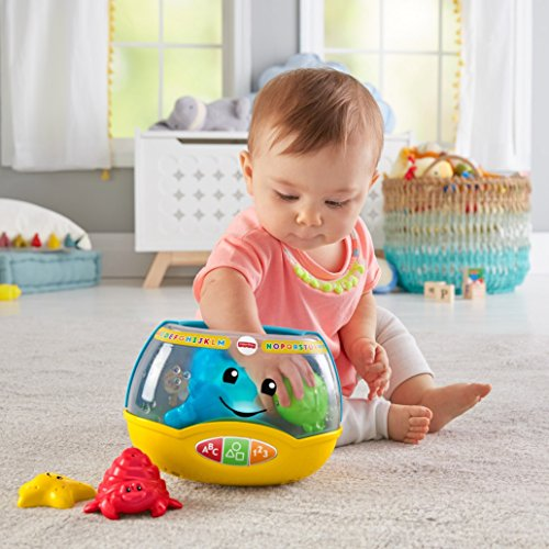 51Wu9nYLdML - Fisher-Price Laugh & Learn Magical Lights Fishbowl