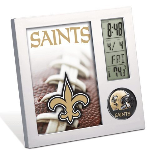 New Orleans Saints Clock - Team - Desk Clock Saints Orleans New