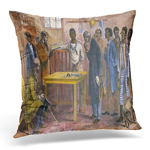 Good day 2019 Throw Pillow Cover Freedmen at