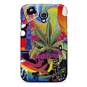 New Arrival Case Cover With FTOTdfp1549EynkT Design For Galaxy S4- Hippy Collage
