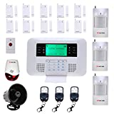 PiSECTOR 2-in-1 Cellular Wireless Security Alarm System Double Protection Auto Dial Kit M