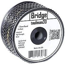 Taulman BRIDGE Filament, 1.75 mm, BLACK