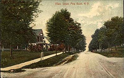 Main Street Pine Bush, New York Original Vintage Postcard