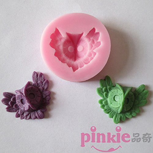 Pinkie Tm Owl Head Baking Fondant Cake Silicone Mold Chocolate Clay Resin Mould Sugarcraft Cake Decorating Tools