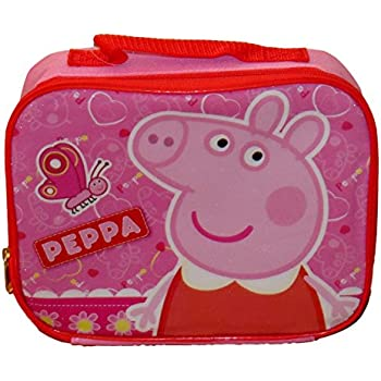 Amazon Com Peppa Pig Insulated Lunch Bag Lunch Box
