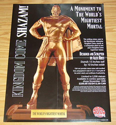 Kingdom Come Shazam Statue Advertisement - 17