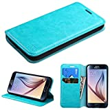 valet tray iphone 6 plus - Asmyna Samsung Galaxy S6 MyJacket Wallet with Tray - Retail Packaging - Blue