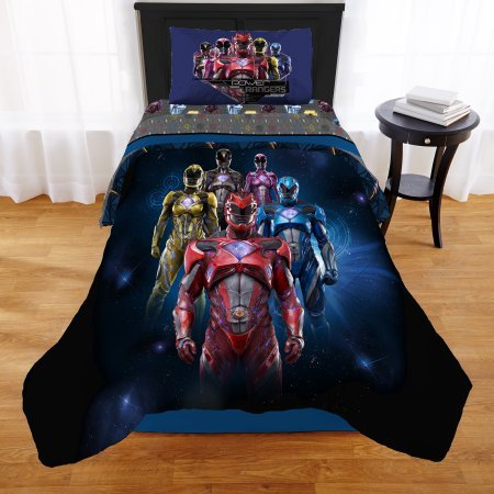 power rangers bed sheets - 5