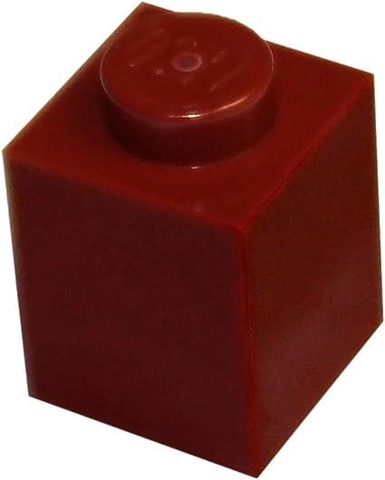 ☀️Lego 1x1 Round Brick x100 Dark Red Stud Part Piece Bulk