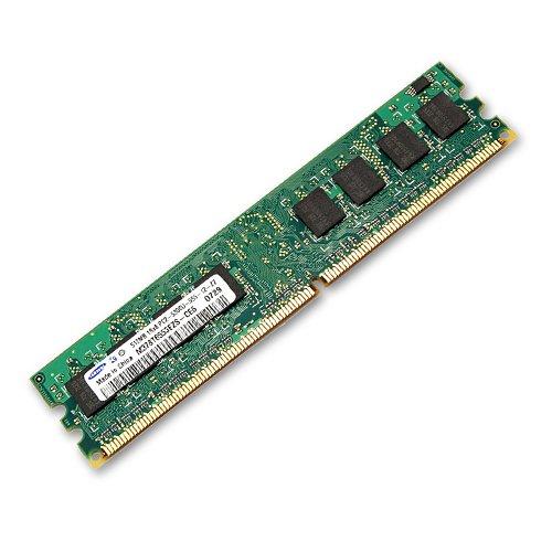 MEM DIMM 512MB PC2-5300U NON-ECC