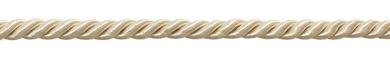 10Yard valor pack de tamaño mediano 5/16marfil/color crudo basic borde decorativo cuerda, estilo # 0516NL color: Natural–A2(30pies/9,5metros) DecoPro