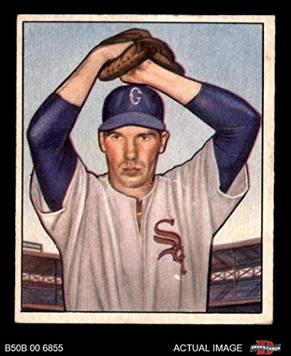 1950 Bowman # 5 Bob Kuzava Chicago White Sox (Baseball Card) Dean's Cards 4 - VG/EX White Sox