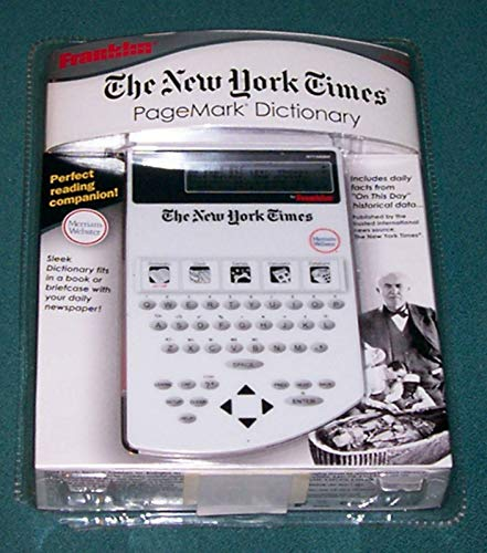 Rare Franklin NYT-540MW The New York Times Page Mark Dictionary New Factory Sealed Sleek Dictionary Fits in a Book or Briefcase with Your Daily Newspaper by Unknown (Image #2)
