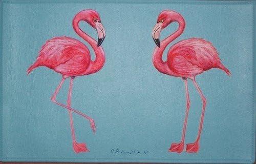 Betsy Drake DM084 Flamingo Door Mat 18 x26