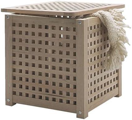 Ikea Hol Table D Appoint Ou Panier A Linge Amazon Fr Cuisine Maison