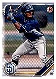 Baseball MLB 2019 Bowman Prospects #BP-89 Esteury