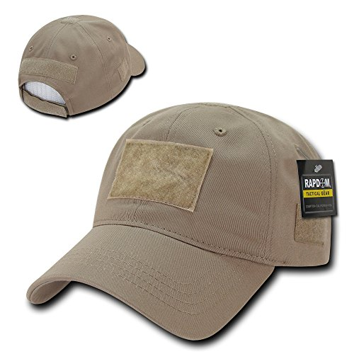 Rapid Dominance Soft Crown Tactical Operator Cotton Cap With Loop Patch - Khaki from Rapid Dominance