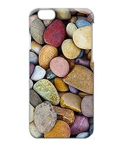 VUTTOO Iphone 6 Plus Case, Beach Pebbles PC Plastic Hard Case for Apple Iphone 6 Plus 5.5 Inch