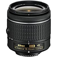 Nikon AF-P DX NIKKOR 18-55mm f/3.5-5.6G VR Lens for Nikon DSLR Cameras (Certified Refurbished)