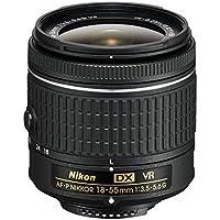 Nikon AF-P DX NIKKOR 18-55mm f/3.5-5.6G VR Lens for Nikon DSLR Cameras (Certified Refurbished)