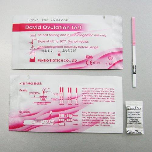 30 x PURBAY LH Ovulationstest Streifen 10mIU/ml ovulation test strip