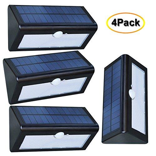 Sunray 38 LED Security Lights, Solar Powered Lights Outdo...